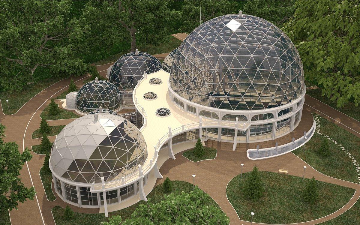 Фото куполообразной формы здание в москве