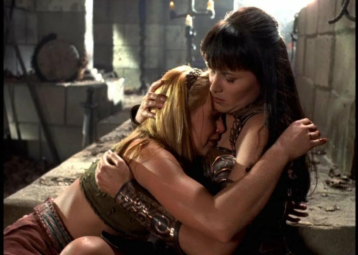 Butt britches xena warrior princess lesbian hot