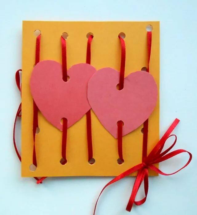 Открытки своими руками сделать валентинки своими руками