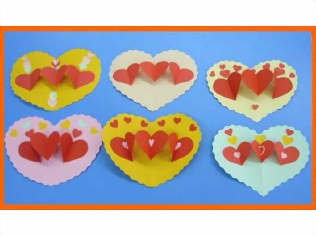 открытка для мам сердечко из бумаги старшая группа годы летят