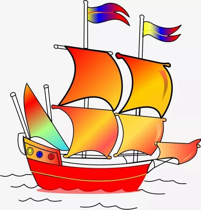 Картинки кораблей для детей