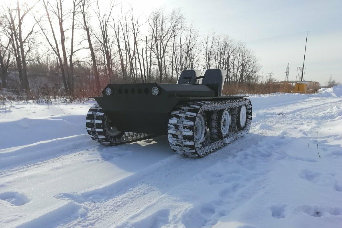 Мотовездеход Егоза Охотник-1К
