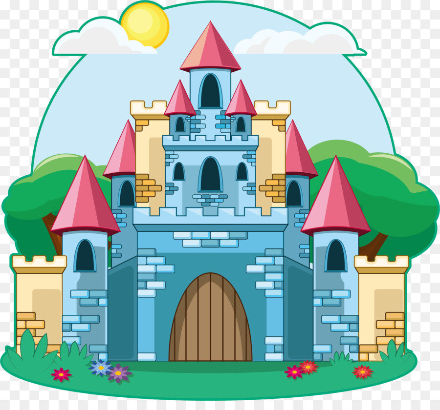 Картинки днем, замки в картинках для детей