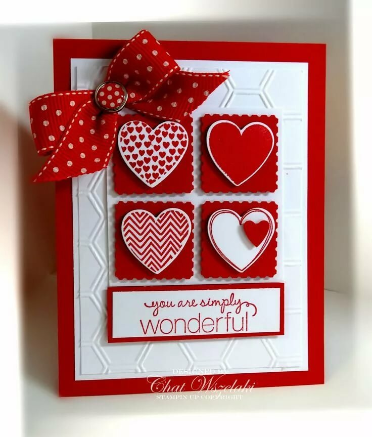 Мини открытки ручной работы до дня валентина, приветствием