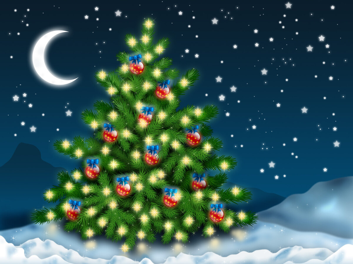 Видео открытки для ватсапа новогодние, маришка
