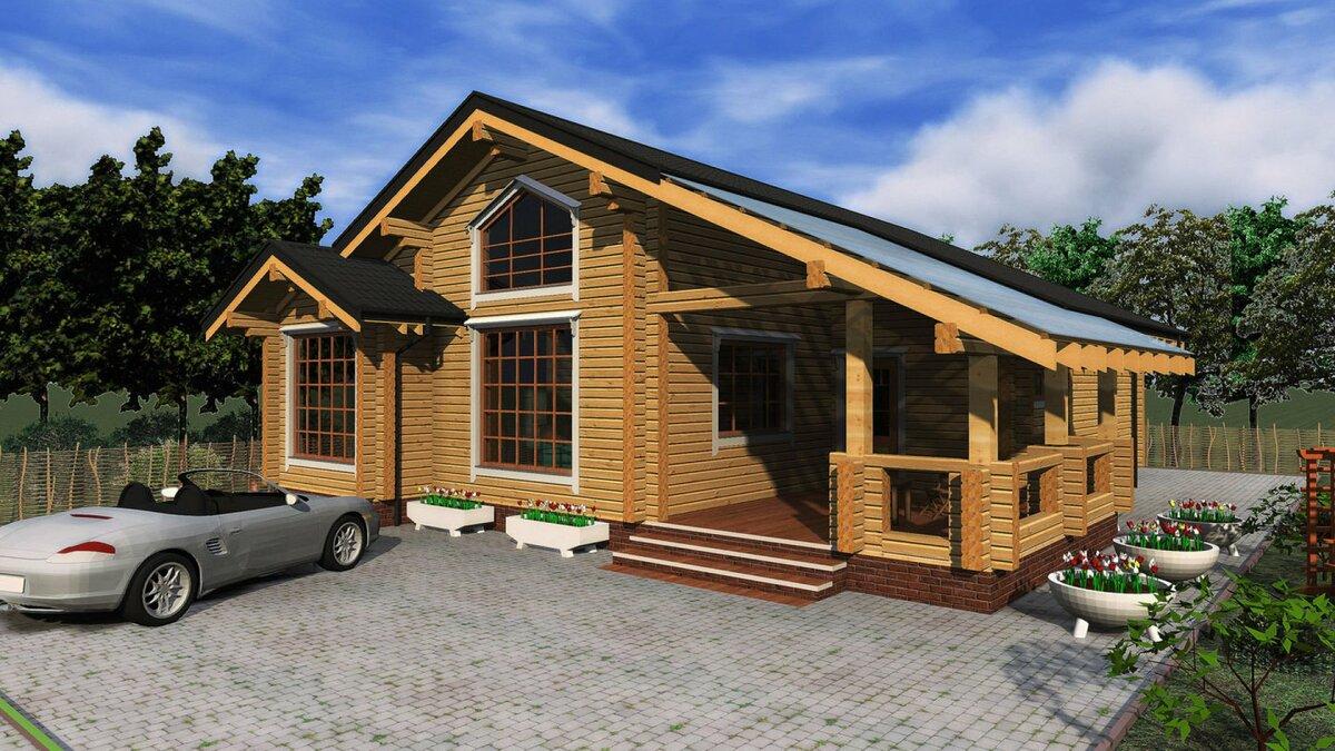 проект дома европейский 124