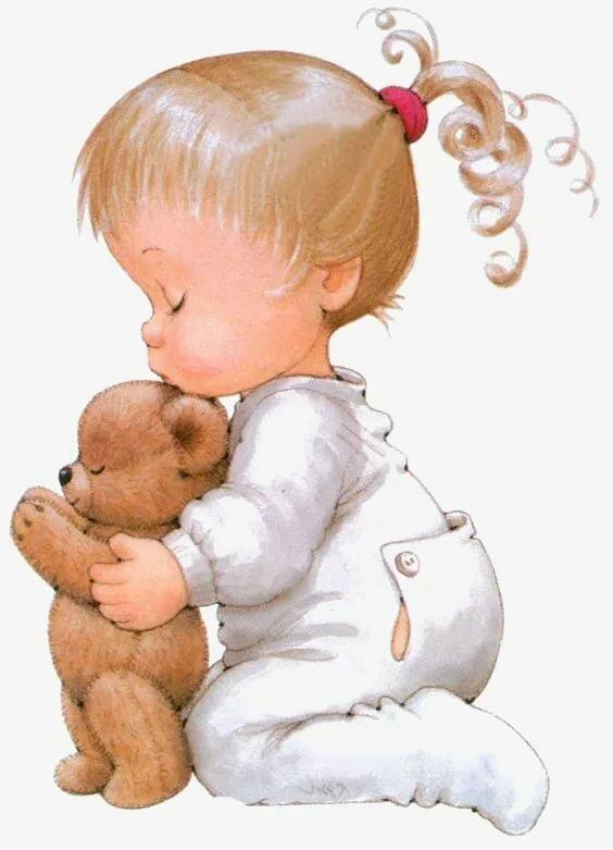 Открытка, игрушки открытки картинки для детей