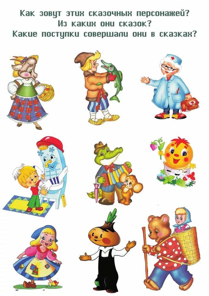 Развитие речи в картинках для старшей группы