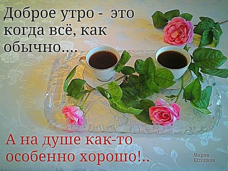 очень пожелание подругам доброго утра проза часто