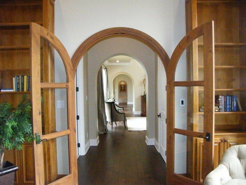 дверные арки в частном доме варианты фото информацией