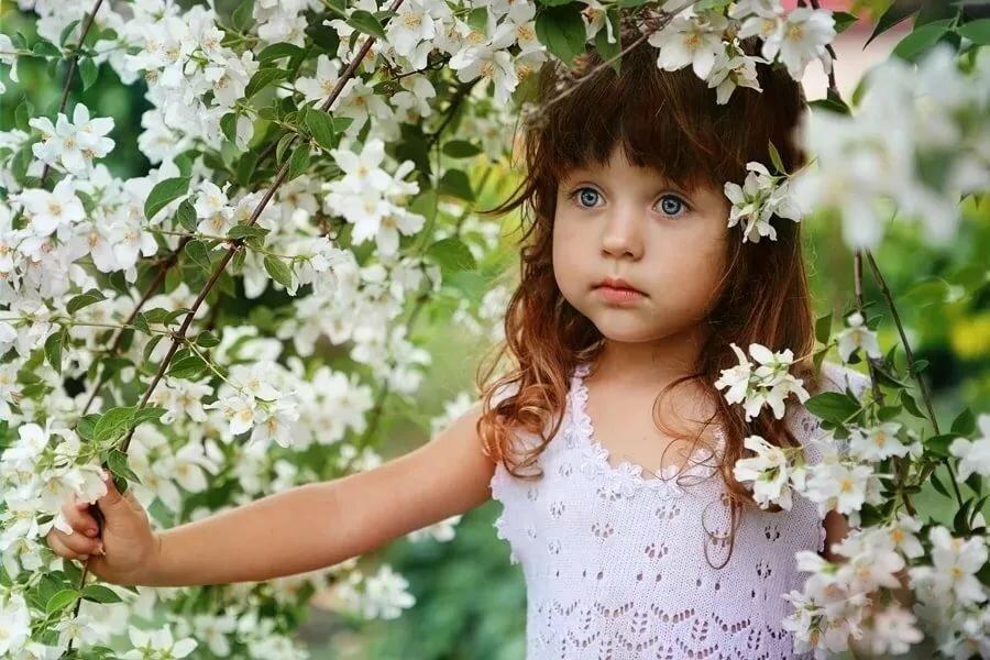 Красивые картинки весна и дети