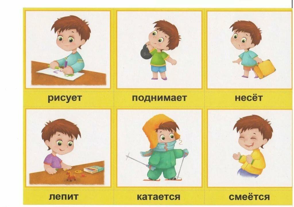 Развитие ребенка в картинках и с описанием