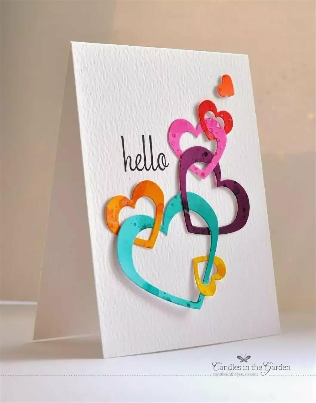 Милые открытки маме своими руками