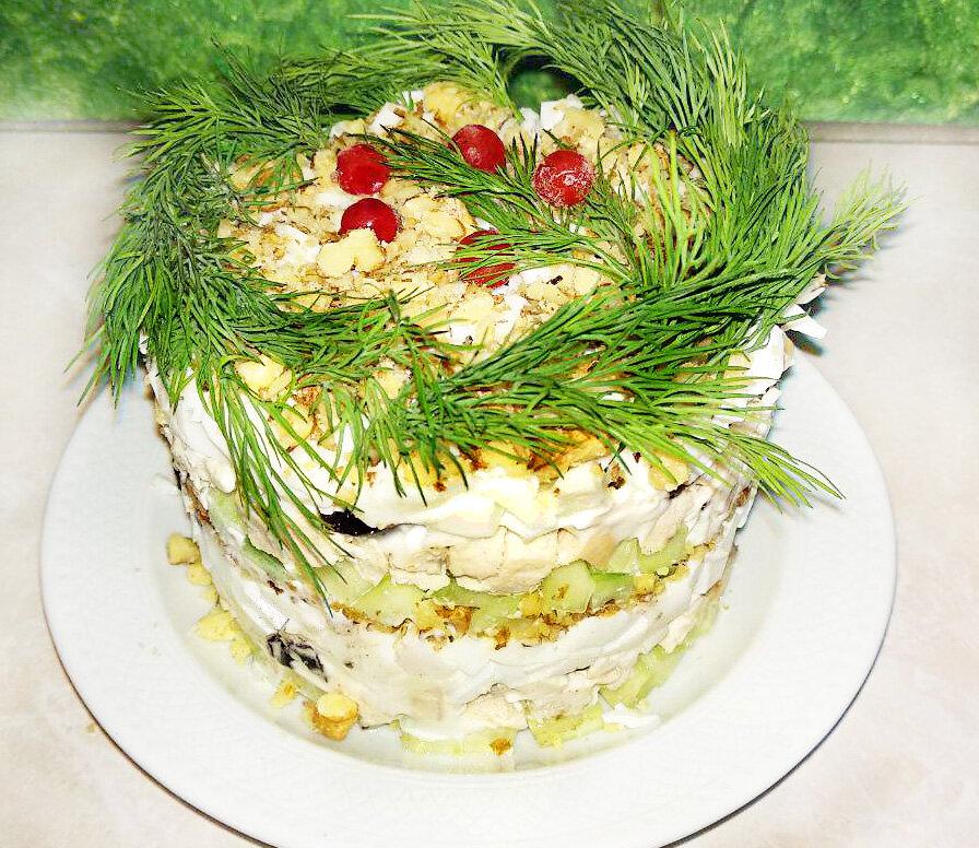 тебе, любя, нежный слоеный салат фото четвертый