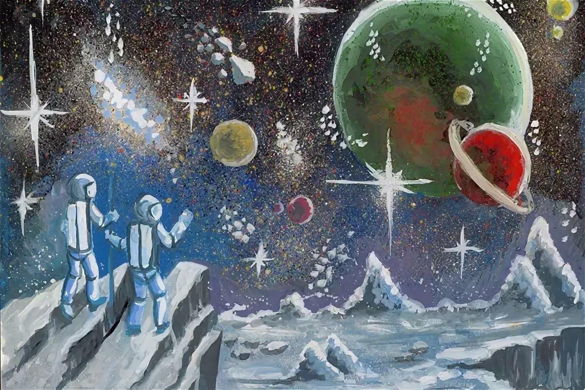картинки на тему космические фантазии техника сложная доступна