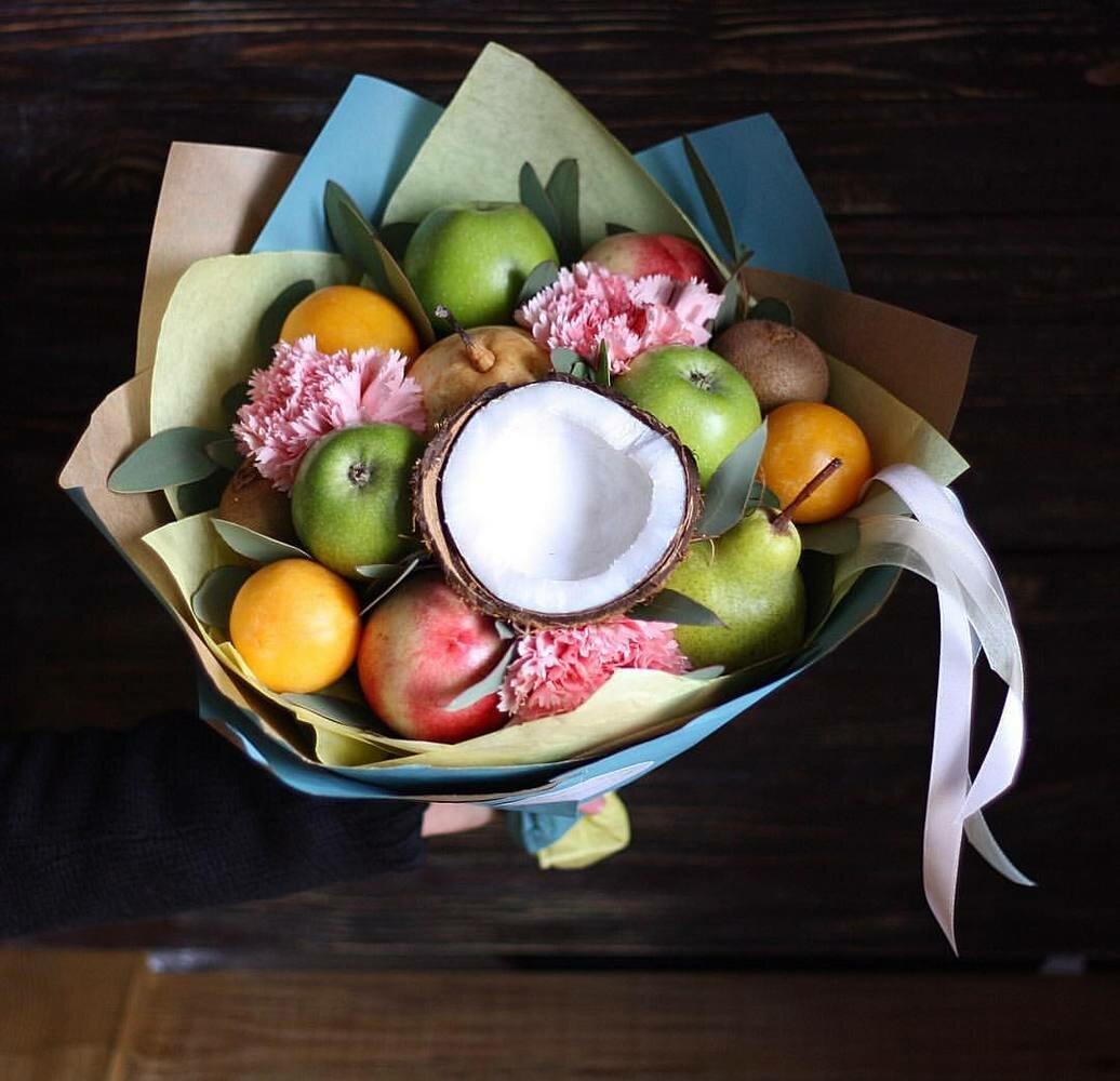 Букет цветов, букеты из фруктов ульяновск