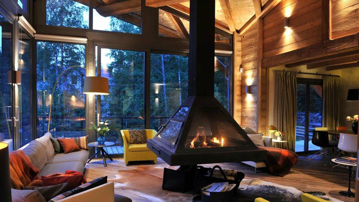 Картинки с красивыми домами внутри