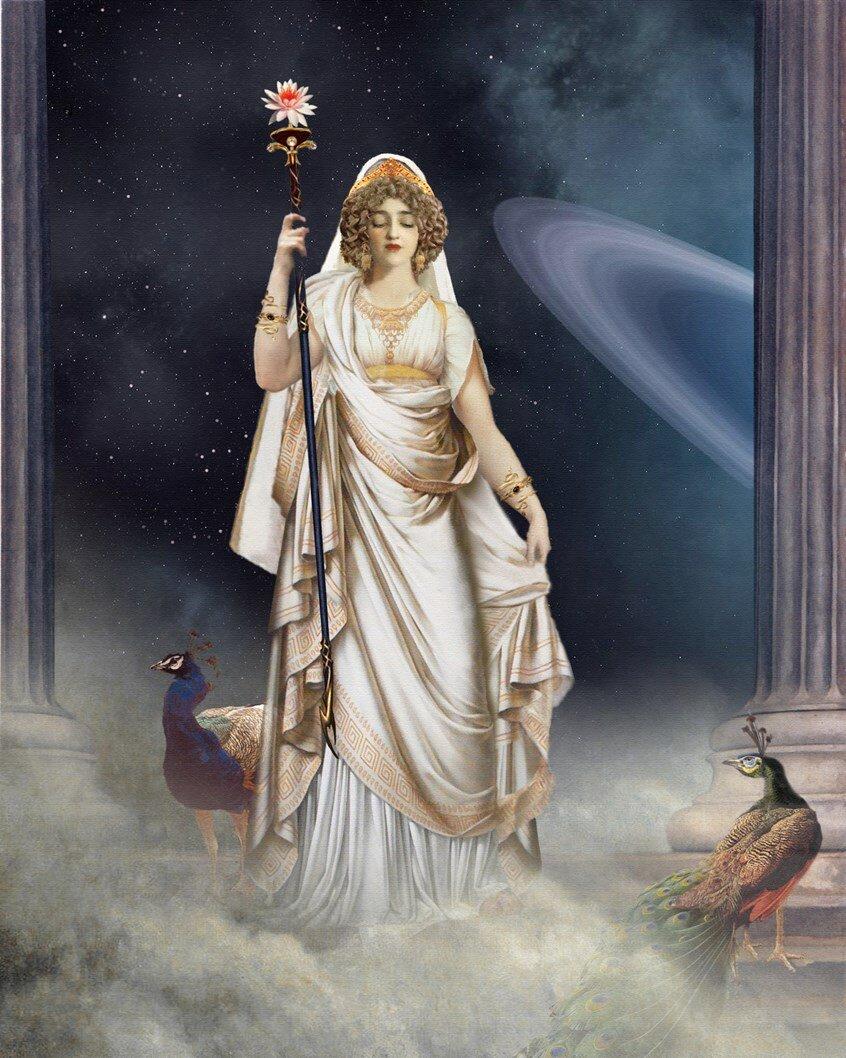 только картинки богиня гера говорит