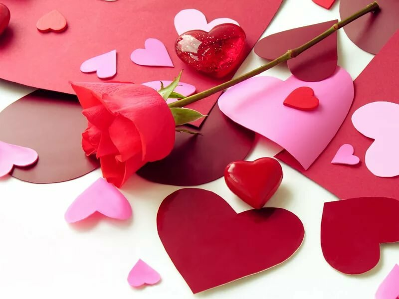 Картинки для, видео открытки день валентина