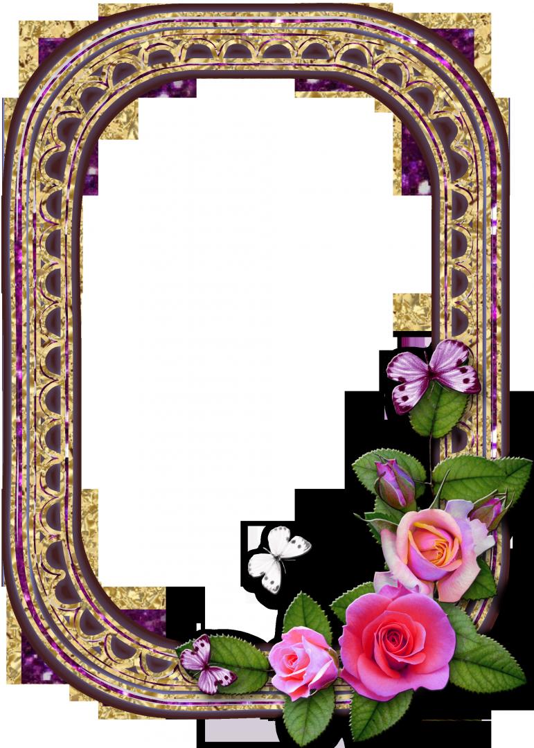 Рамка для фото картинки на прозрачном фоне