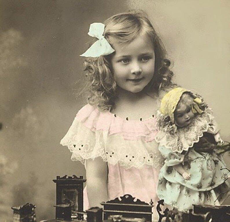 Картинка, фото открытки с куклами