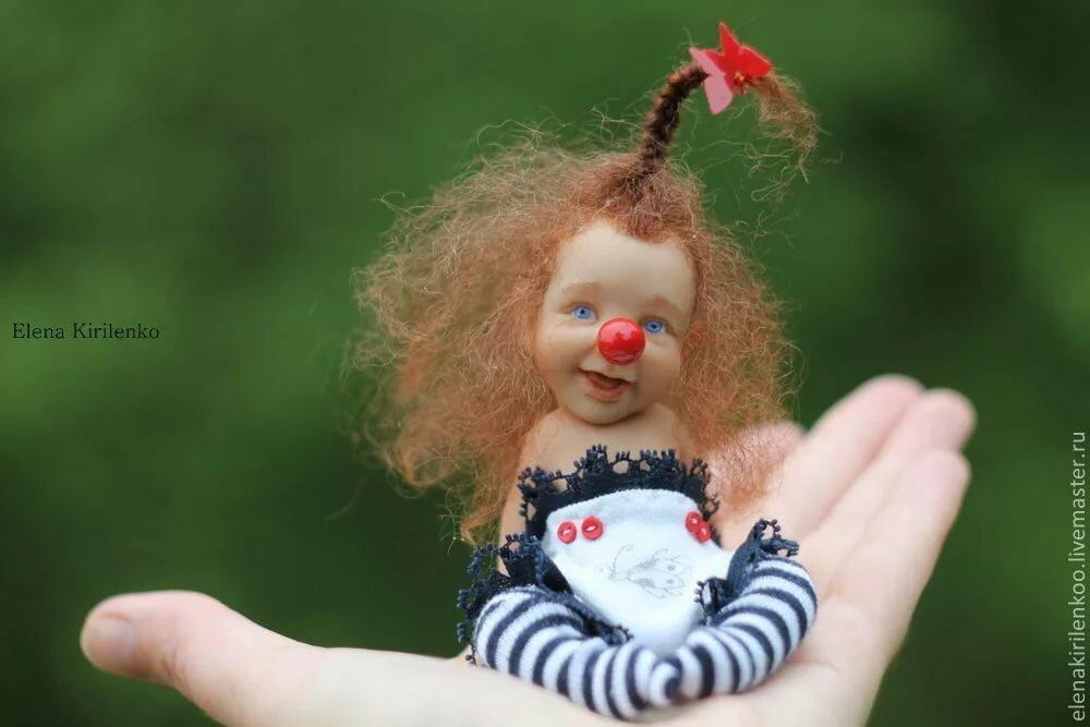 Сделать открытку, картинка прикольная лялька