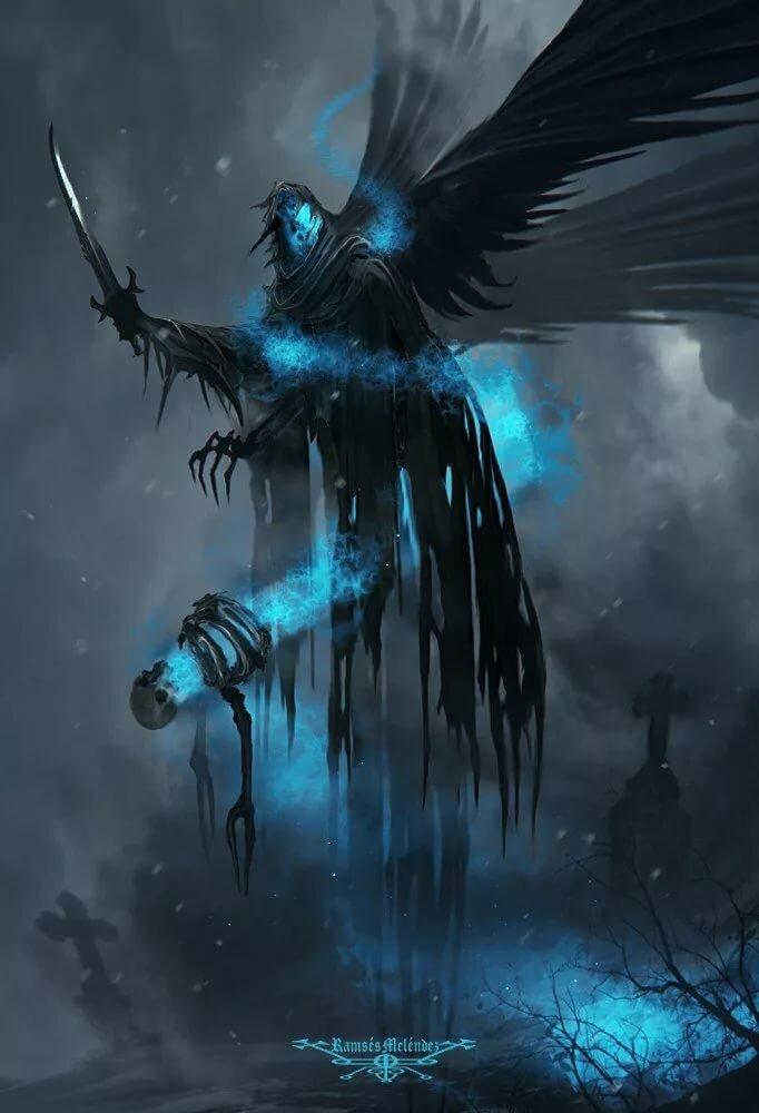 Картинка темного духа