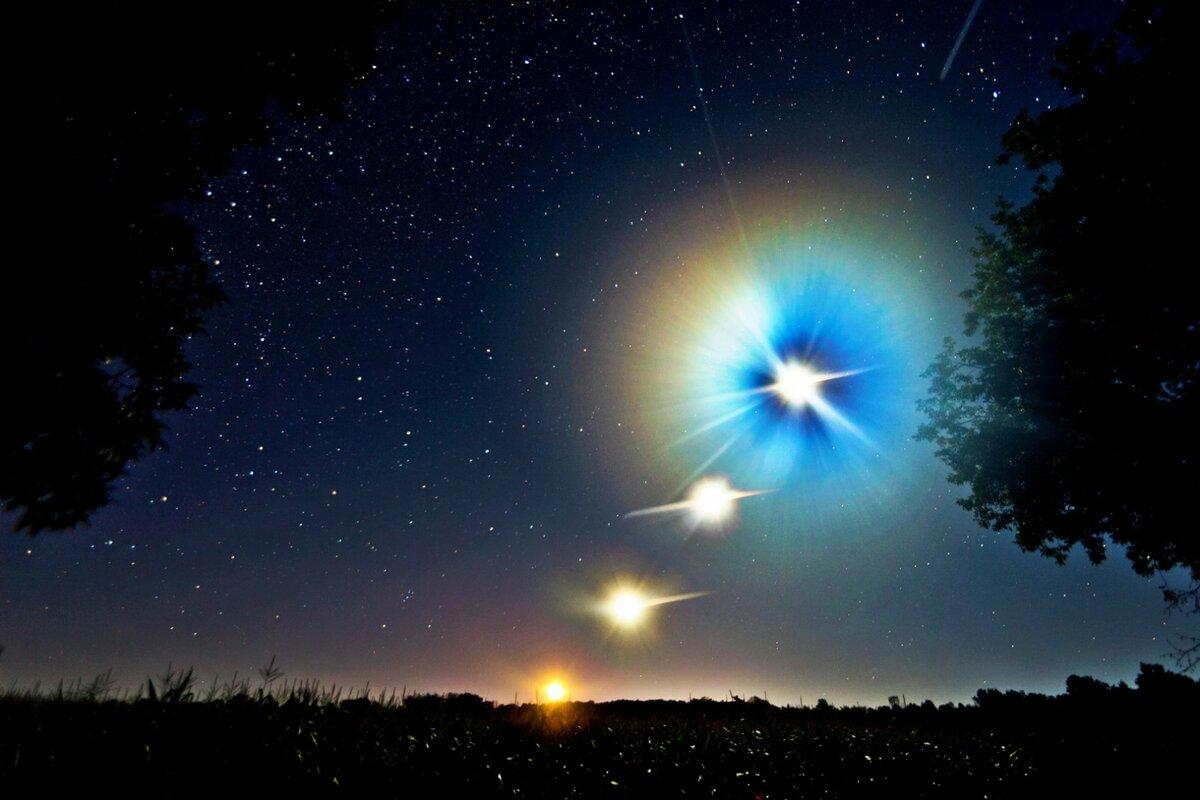 Картинка зажглась звезда
