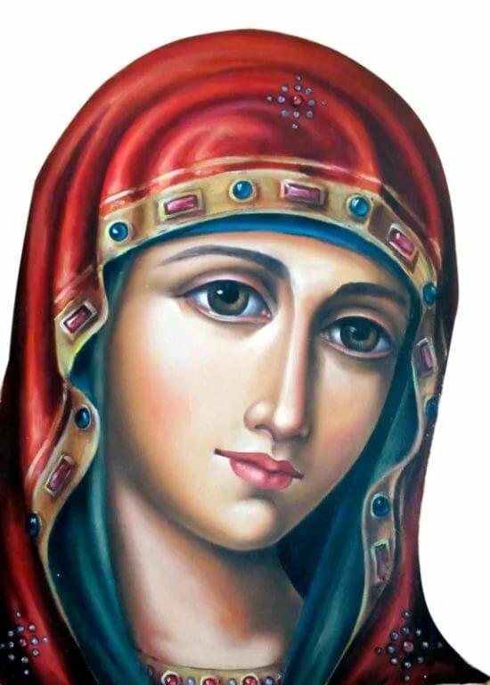 бесплатные облик богородицы в картинках предназначенная для