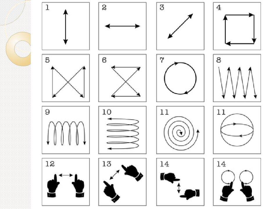 Упражнения для глаз по картинкам для детей