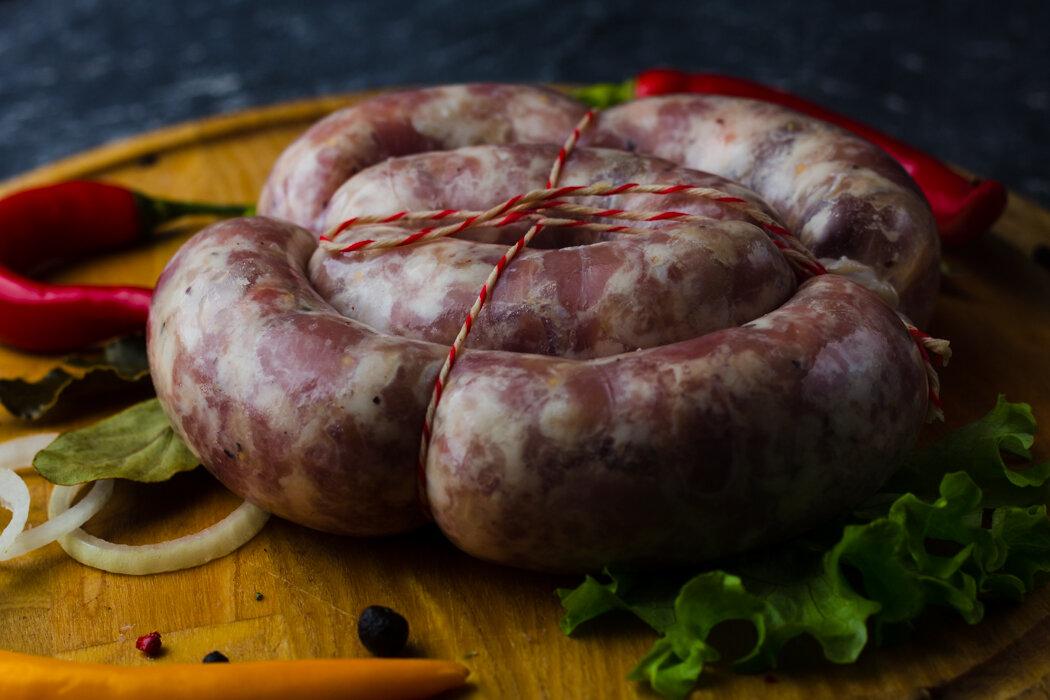 рецепт домашней колбасы в картинках меня этот