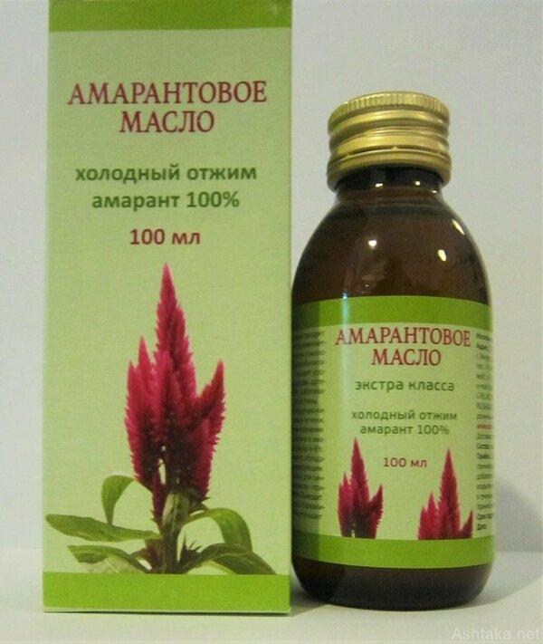 Амарантовое масло от гипертонии в Черкесске