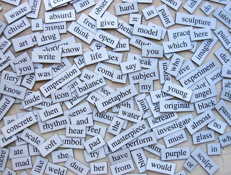 Копирование слов с картинки бывает так