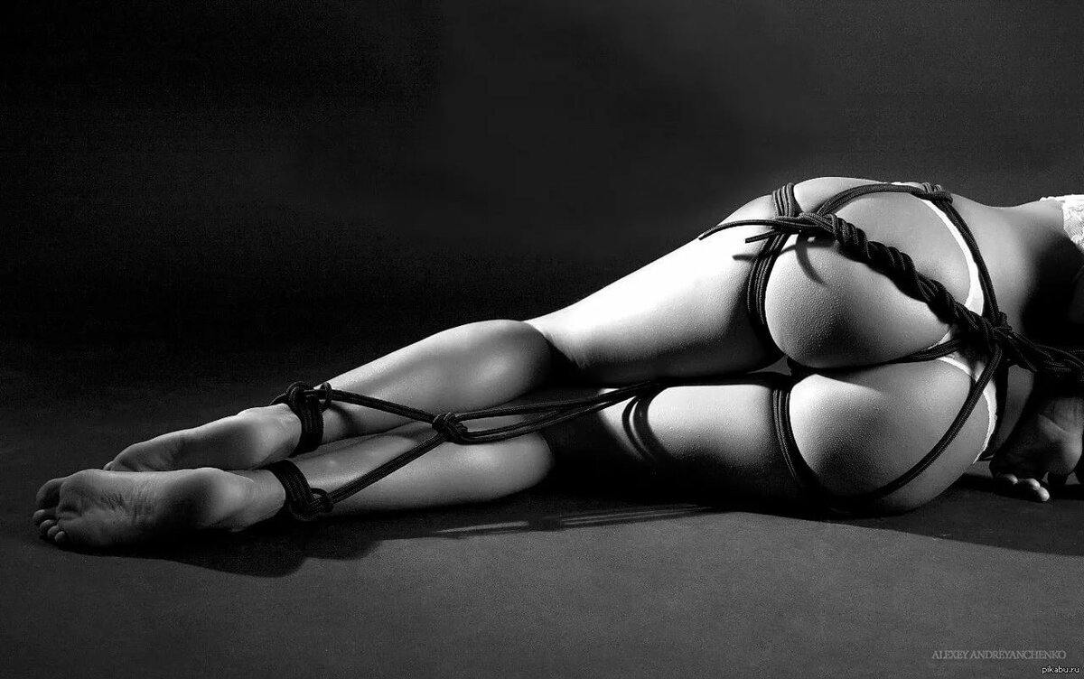 Связывание веревкой женщин картинки