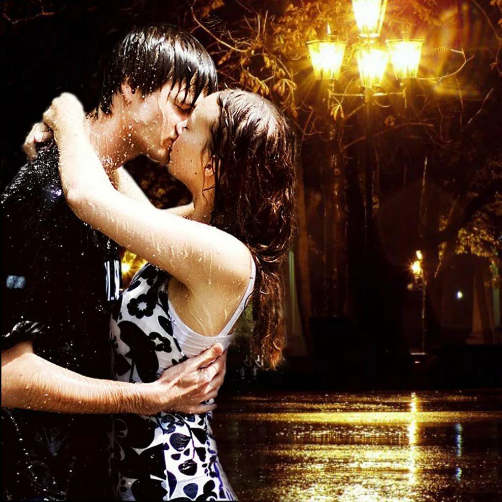 Картинки мерцающие поцелуи