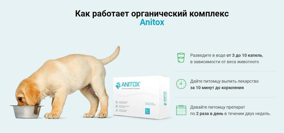 Anitox All от паразитов для животных в Якутске