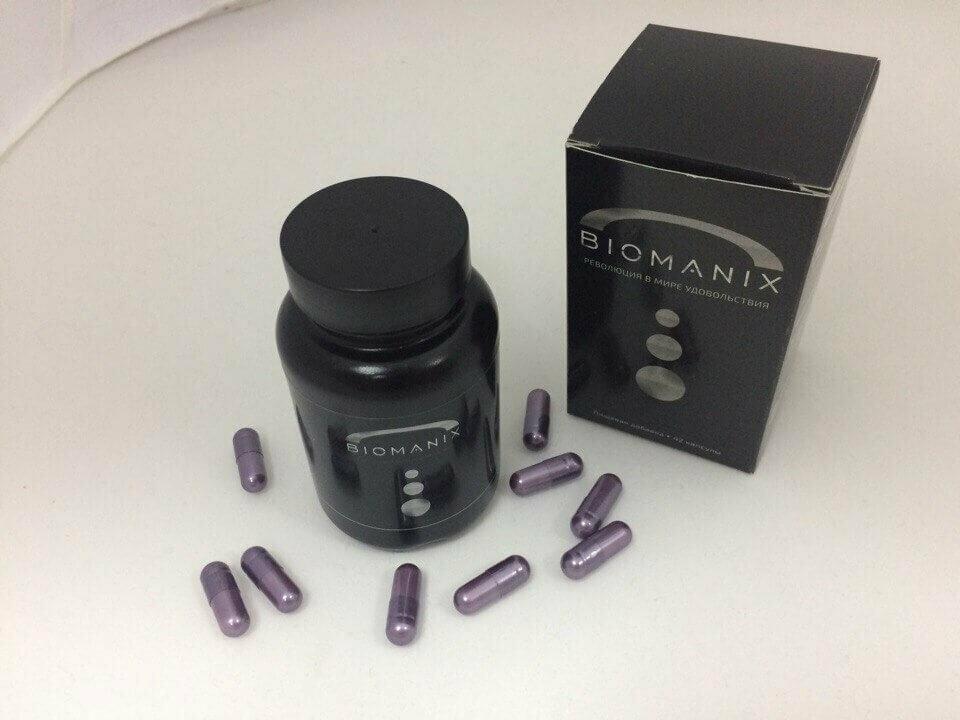 Капсулы BIOMANIX для мужчин в Копейске