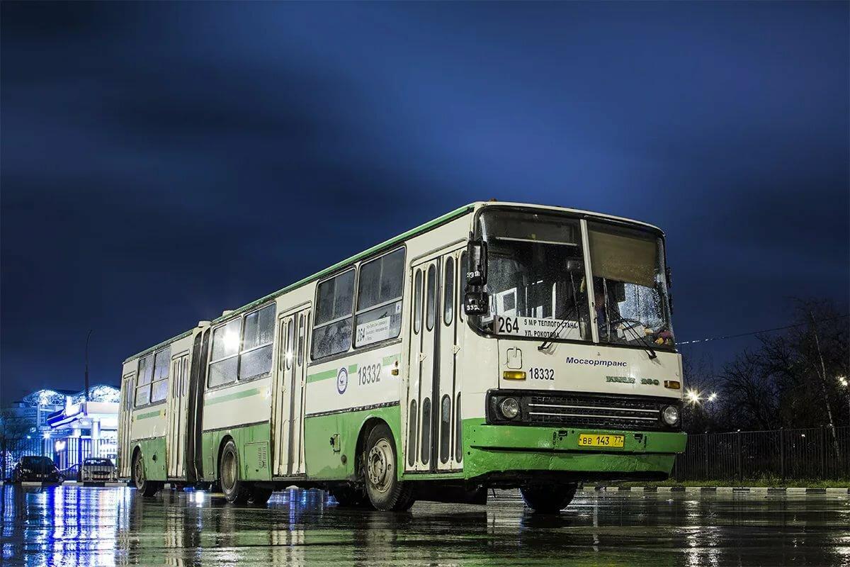 Фотки автобусов в москве