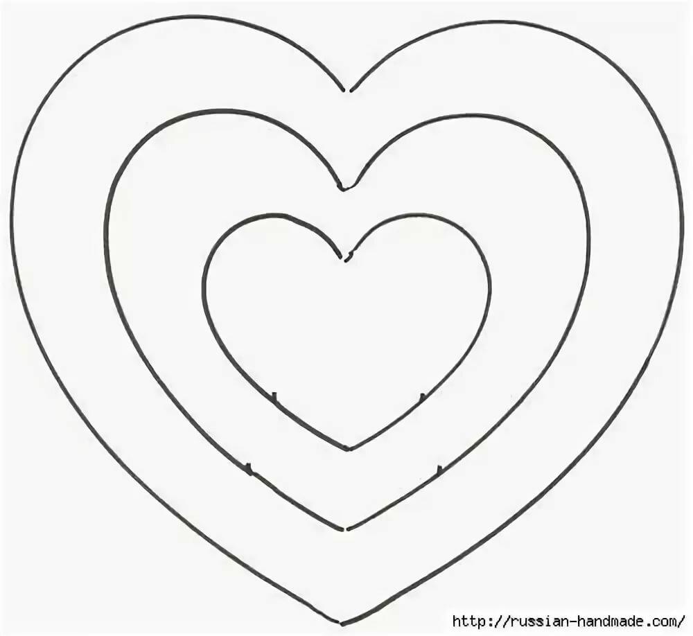 Рисунки игры, шаблоны сердца для вырезания из бумаги распечатать формат а4