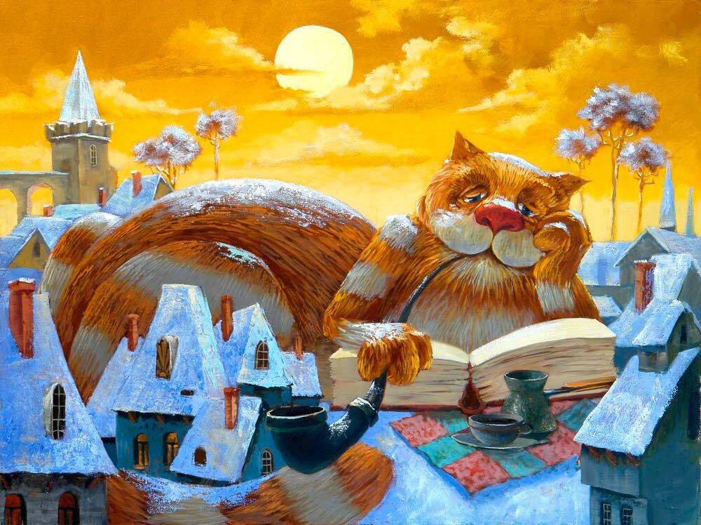 Картинки нарисованные, прикольные нарисованные картинки с котами