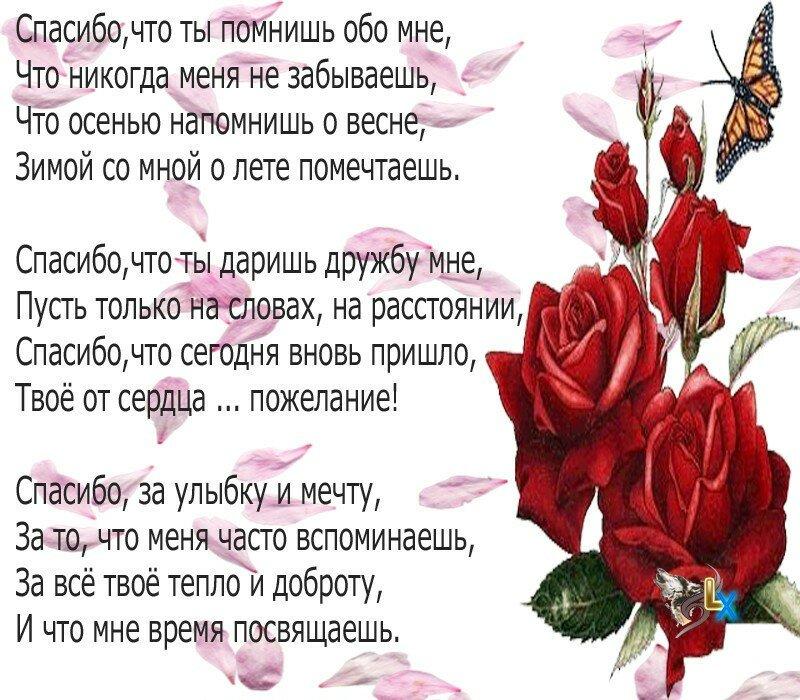 стихи благодарность мужчине за то что он есть