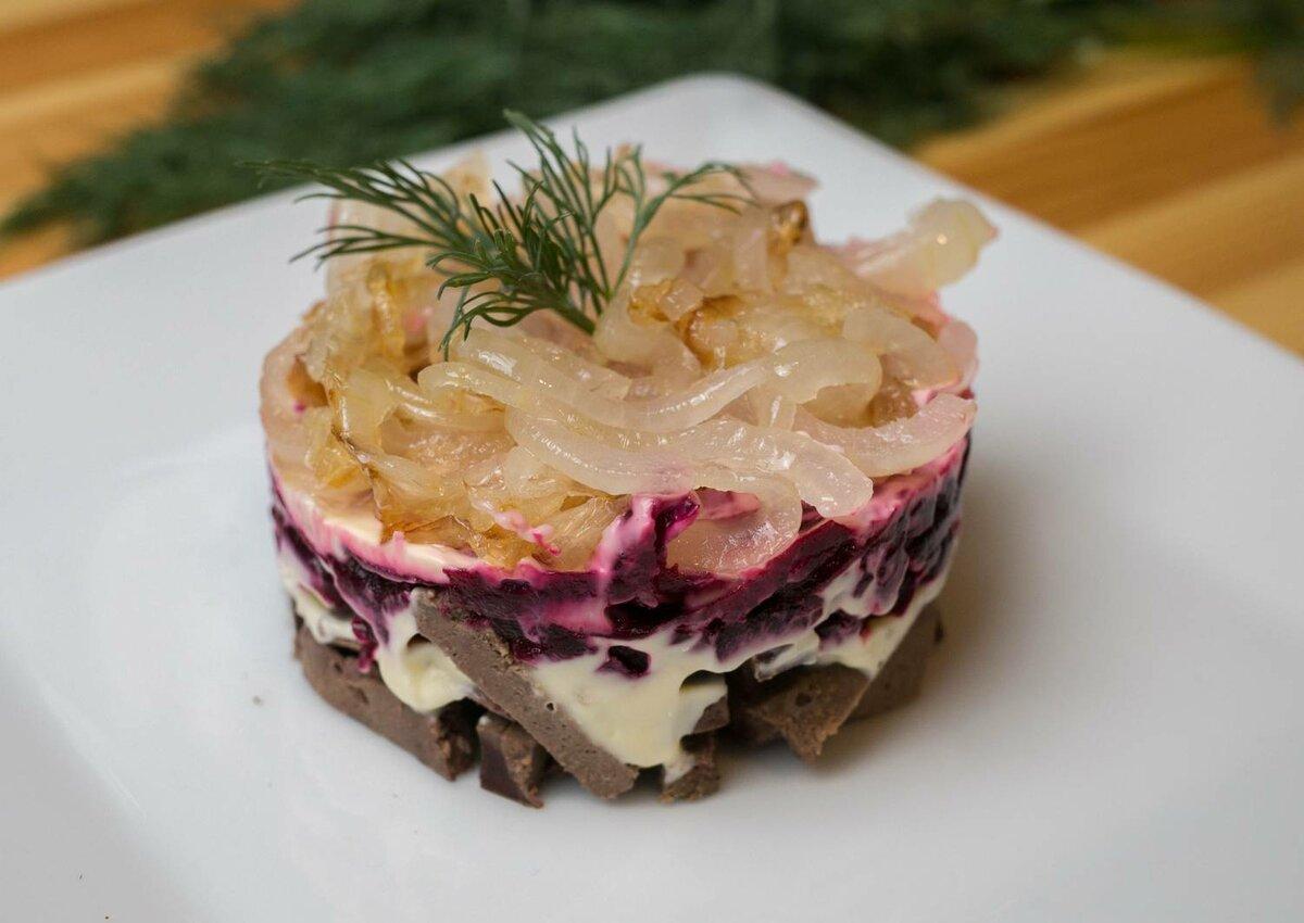 мнение, что слоеные салаты со свеклой рецепты с фото был как после