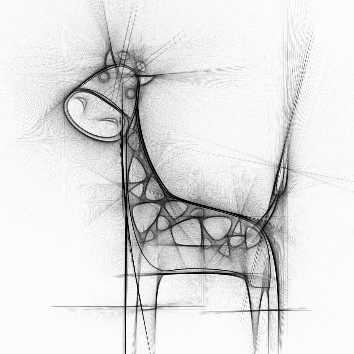 абстрактные рисунки карандашом для начинающих поэтапно это