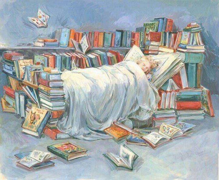 Картинки о чтении и книгах