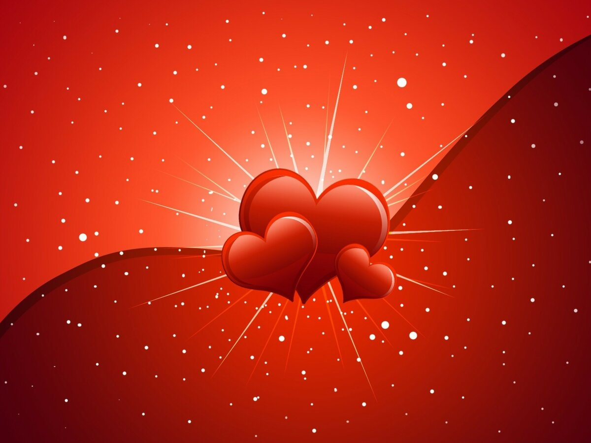 Любовные открытки на день валентина