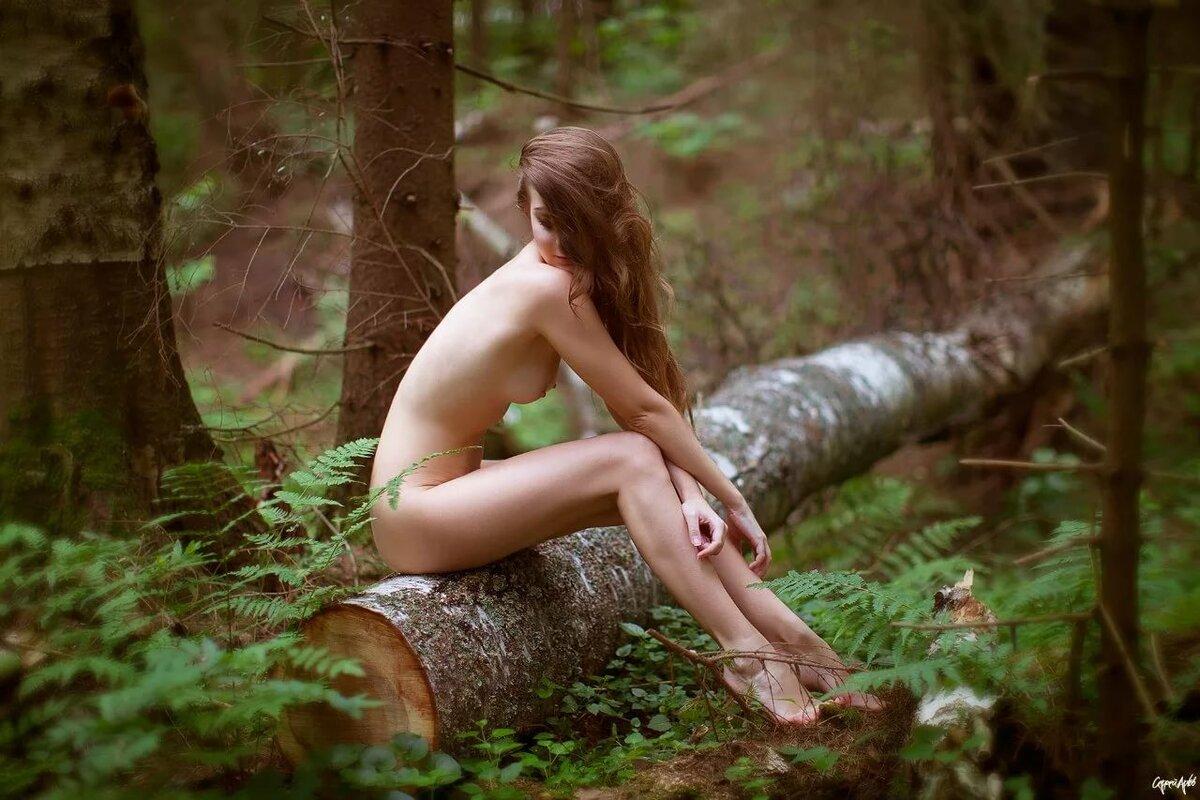 тепло минус девушка в лесу ню хотел
