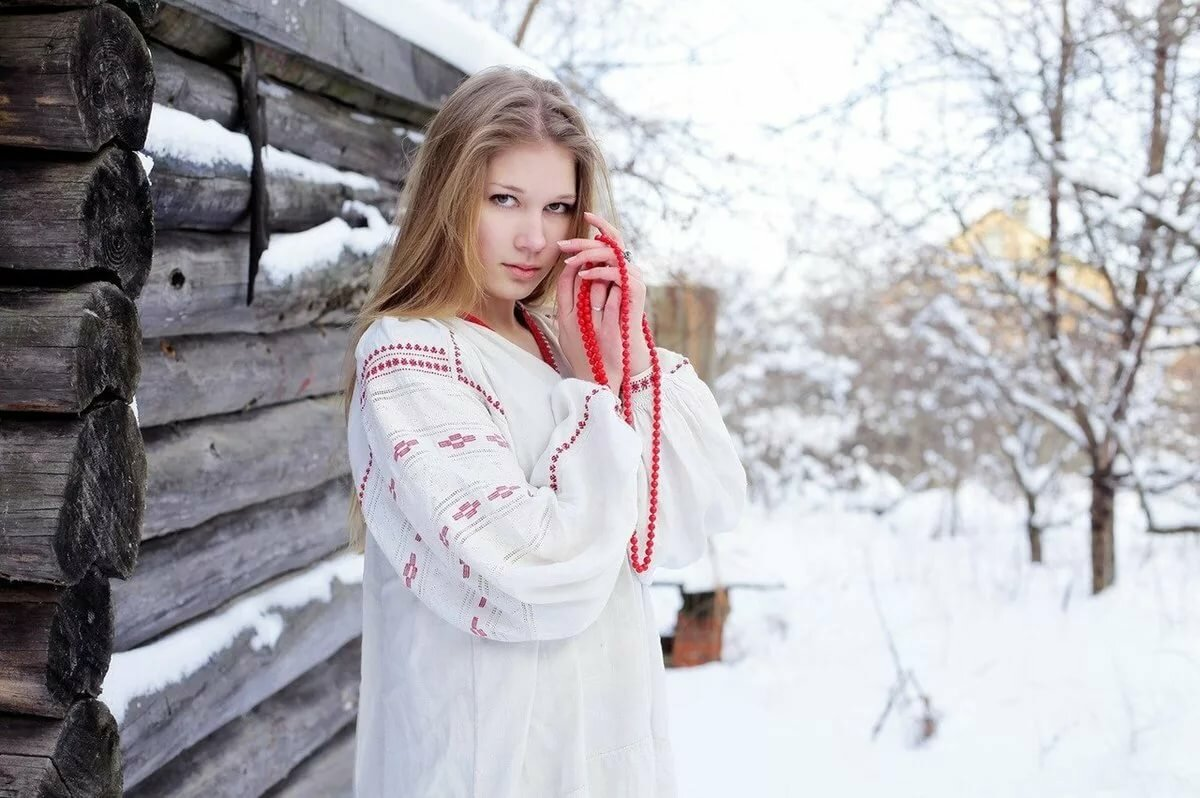 широкий размах русской девушки - 9