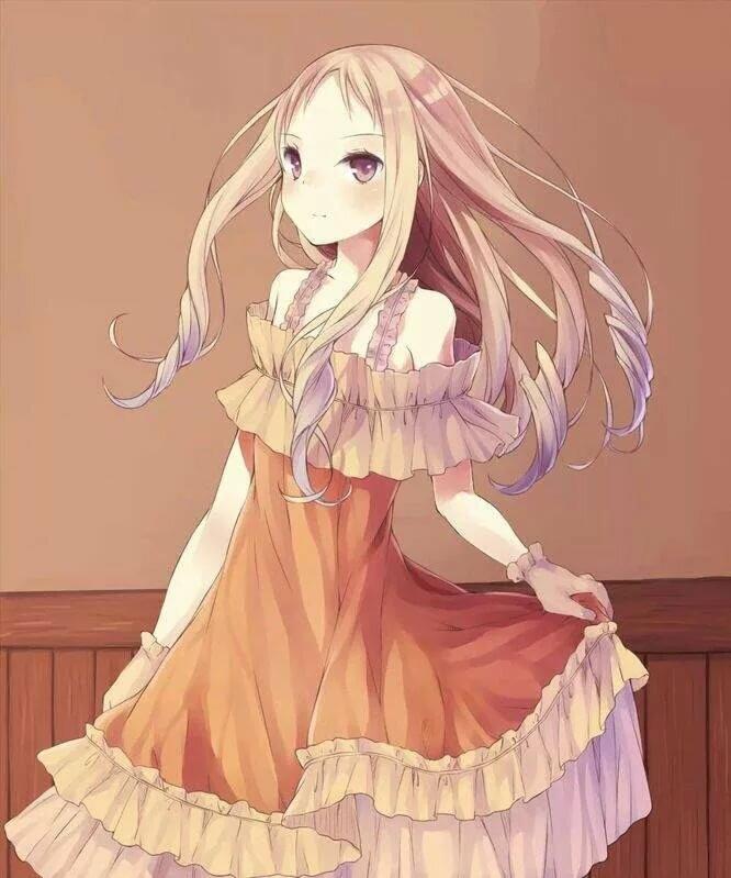 Картинки по аниме с русыми
