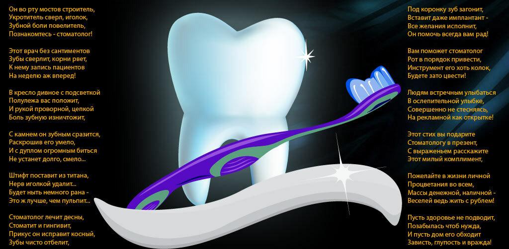 Поздравления с днем рождения пациента стоматологии