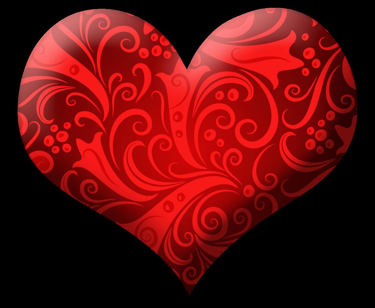 Картинки сердечки красные, поздравления днем